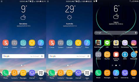 How To Install Galaxy S8 Weather Widget on TouchWiz Nougat