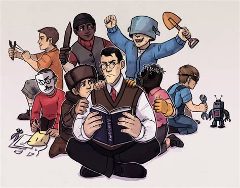Kids Fortress 2 by Kethavel on DeviantArt | Fortress 2