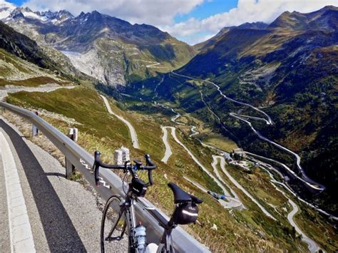 The Ten Twenty Highest Paved Cycling Climbs in Switzerland