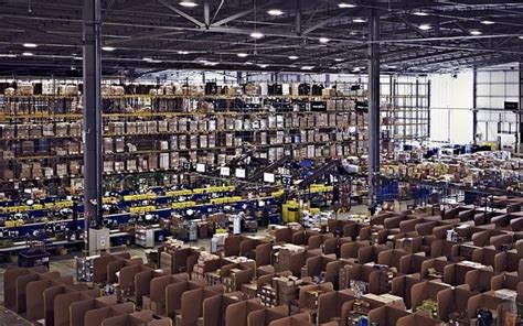 Behind the scenes at Amazon's Christmas warehouse - Telegraph