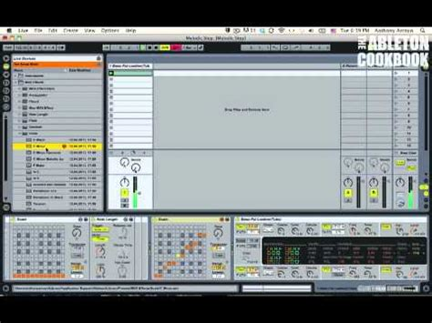 Make an Ableton Step Sequencer without Max for Live, Pt