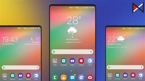 Samsung One Ui Weather Widgets   For All Android Devices