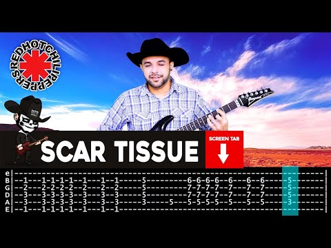 Peppers - Scar Tissue sheet music (easy) for guitar solo