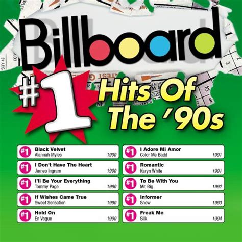 Billboard #1 Hits of the '90s - Various Artists | Songs