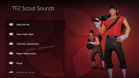 TF2 Scout Sounds for Windows 8 and 8