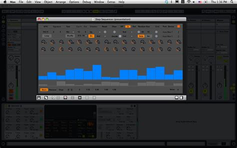 Step Sequencer (for Ableton Live)   Cycling '74