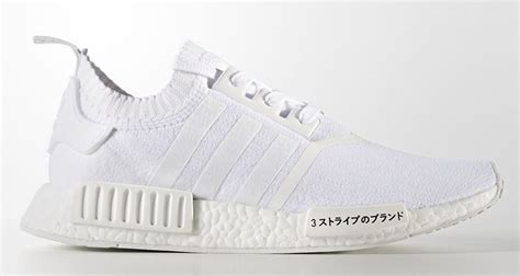 """adidas NMD R1 PK """"Triple White"""" Gets Updated with Japanese"""