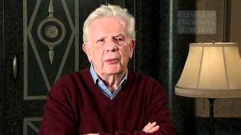 Christoph von Dohnanyi remembers Cleveland Orchestra