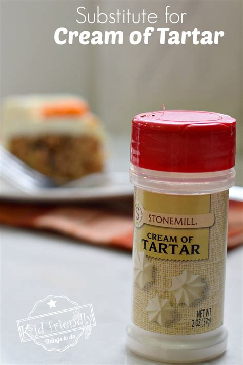Uses for Cream of Tartar and an Easy Substitute {For When