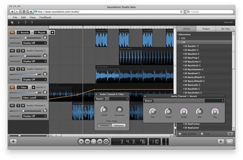 Audio Editor Software For Professional Sound Remix Track