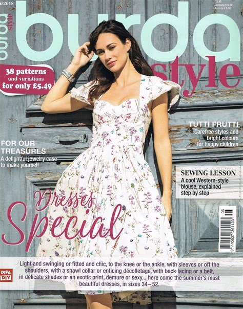 Burda Style May 2018 - SMF Designs and Friends