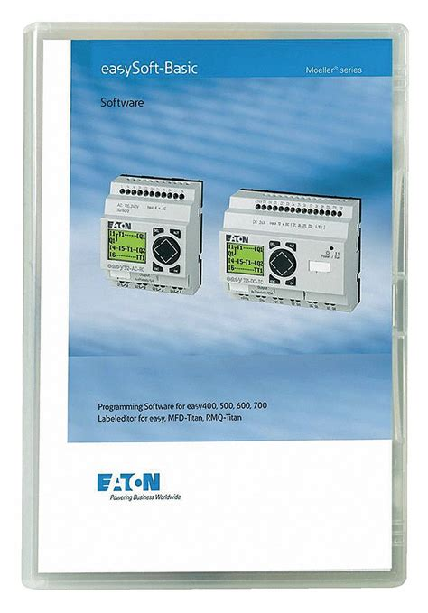 EATON Software, For Use With Easy 500, 700 and 800 Series