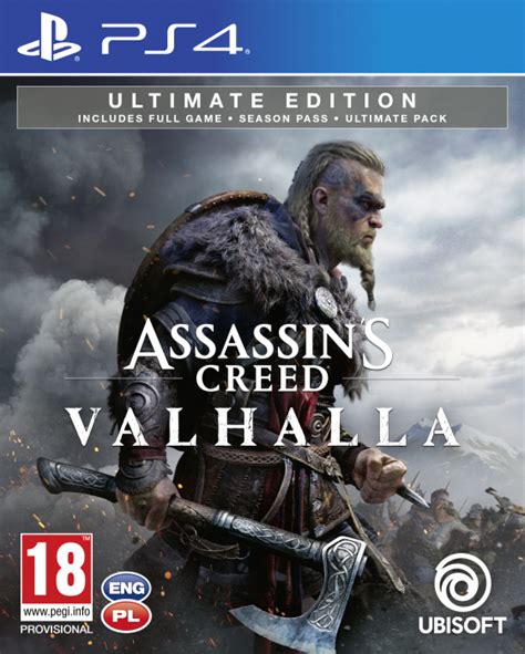 PS4 Assassin's Creed Valhalla Ultimate Ed