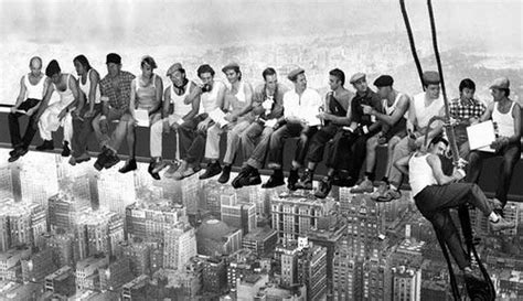 Wallpapers Photo Art: Lunch Atop a Skyscraper, 1932 Poster