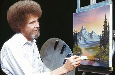 Bob Ross Is Making A Happy Little Comeback At Public