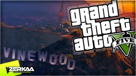 STUNTING ON THE VINEWOOD SIGN | GTA 5 Funny Moments | E461