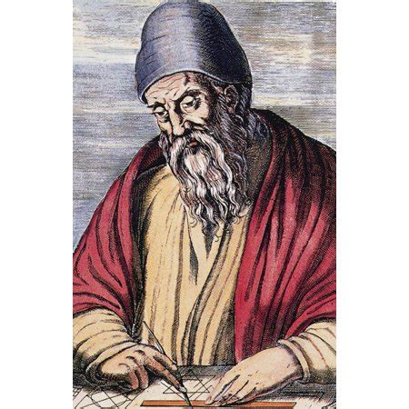 Euclid Ancient Greek Mathematician Poster Print by Science