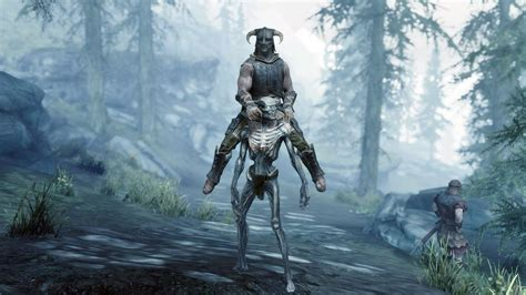 This hilarious Skyrim mod lets you swap your horse for a