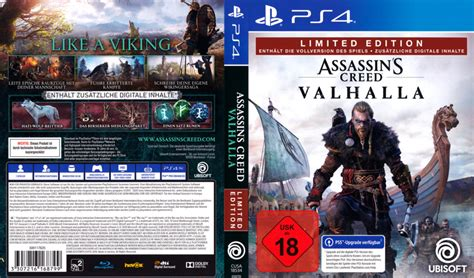 Assassins Creed - Valhalla (Limited Edition) DE PS4 Cover