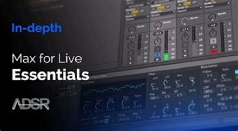 ADSR Sounds Max for Live Essentials Control Devices