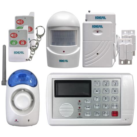 Discontinued: 7-Piece Wireless Alarm System with Dialer