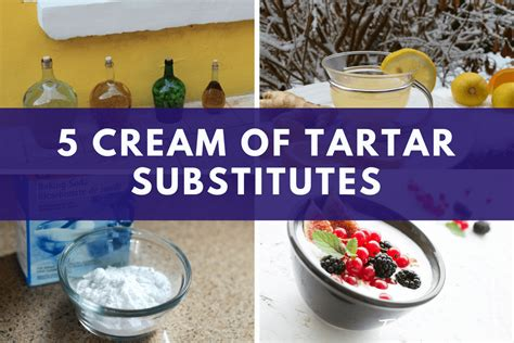 Cream of Tartar Substitutes: What to Do When You Don't
