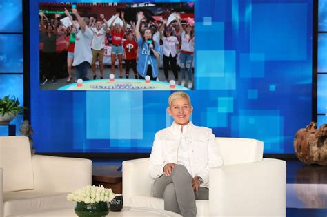 Here's why 'The Ellen DeGeneres Show' was at the Phillies game