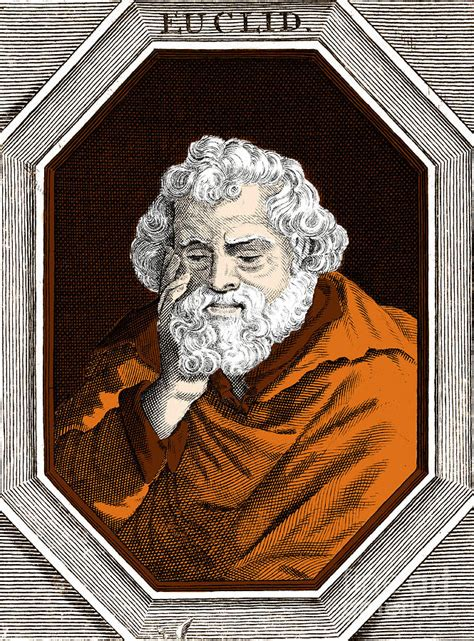 Euclid, Ancient Greek Mathematician Photograph by Science