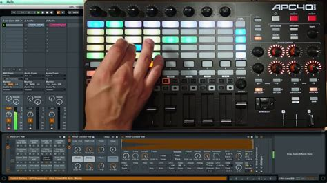 APC40 mk2 Step Sequencer in Ableton Live   AlexProMix