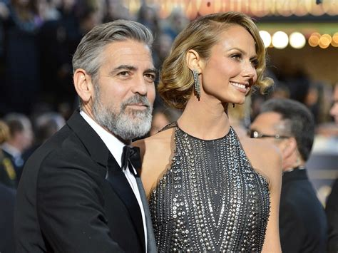 George Clooney And Stacey Keibler Split - Business Insider
