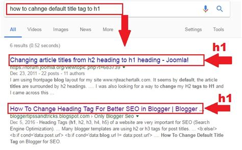 Optimized Heading h1 h2 h3 Tags SEO In Blogger   BLOGGER HINTS